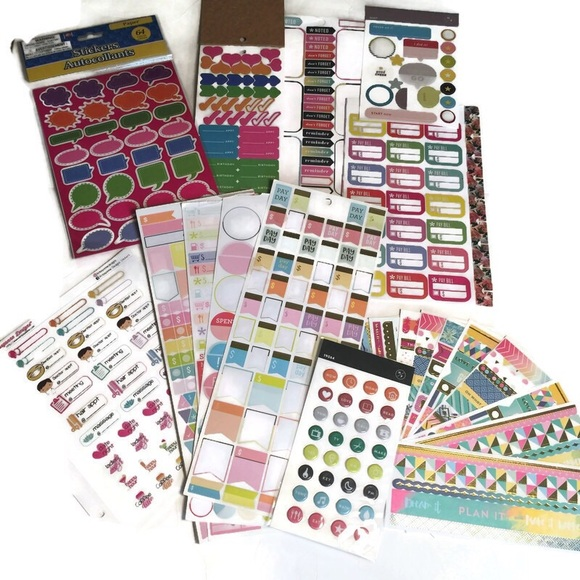 Other - Huge lot of planner and calendar stickers